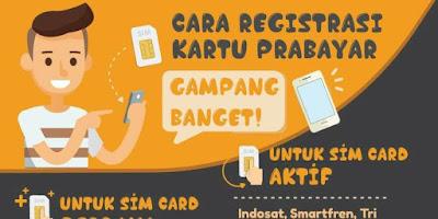Cara Registrasi Kartu Simpati Telkomsel