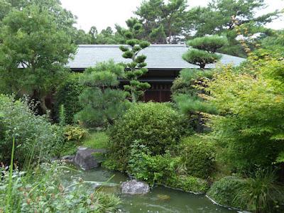 花博記念公園鶴見緑地 日本庭園 むらさき亭