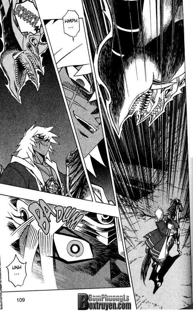 YUGI-OH! chap 302 - ambush!! assault!! trang 9