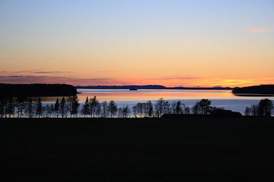 solnedgång,canon,canonEOS,canonEOS 1000d,sommar,storsjön