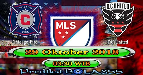 Prediksi Bola855 Chicago Fire vs DC United 29 Oktober 2018