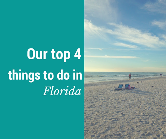 Top 4 things to do in Florida with children