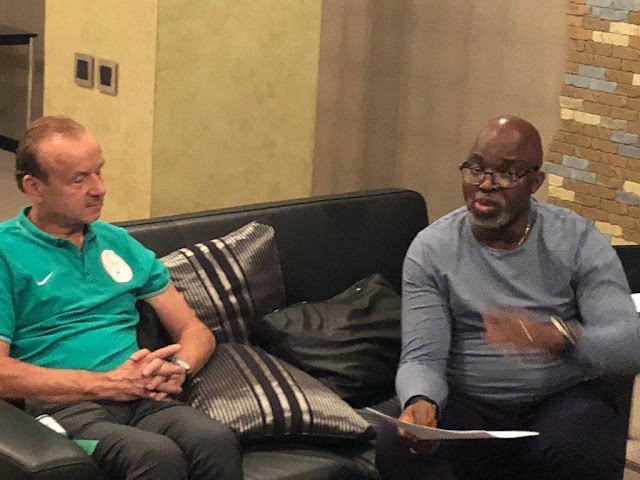 """Rohr Earns $55,000 Monthly, Not $60,000,"" Says NFF President Pinnick"