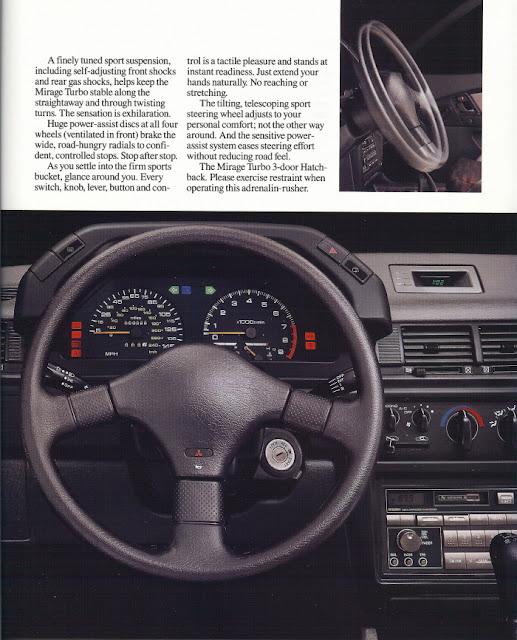 1983 Mitsubishi Colt Mirage Turbo: 62. Mitsubishi Mirage Cyborg (C53A & C83A