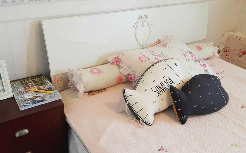 Decorative Pillow fish. DIY step-by-step tutorial. Подушка в виде рыбы, выкройка и инструкция