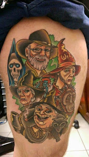 10 Discworld Tattoos - Literary Tattoos Series