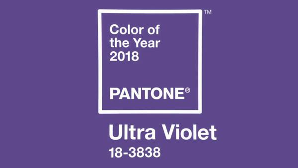 Pantone chooses ultra-violet colors