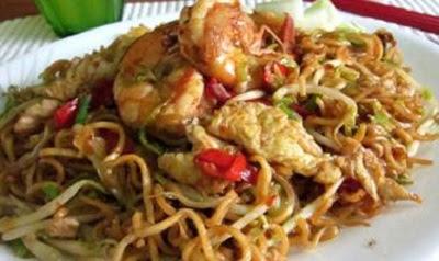 Aneka Resep Olahan Bihun Goreng Ayam