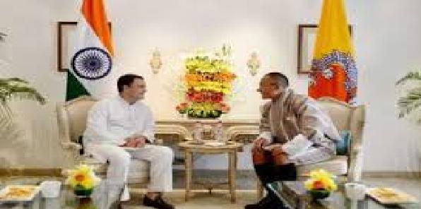 Rahul-ne-bhutaan-ke-pradhanmantri-se-mulaaqat-ki