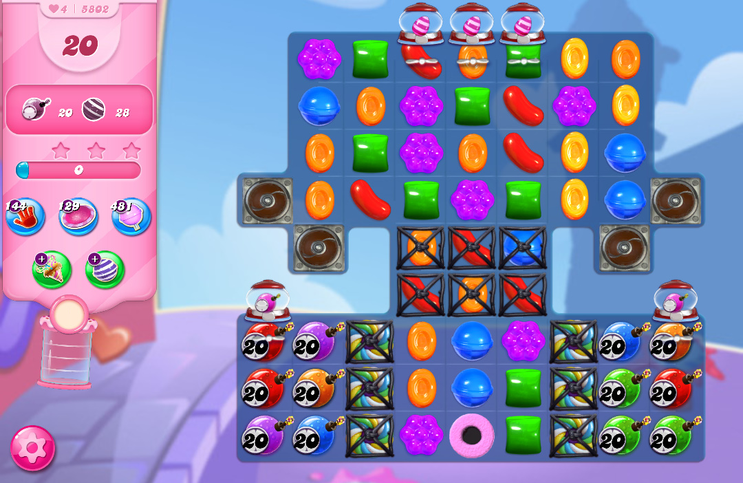 Candy Crush Saga level 5802