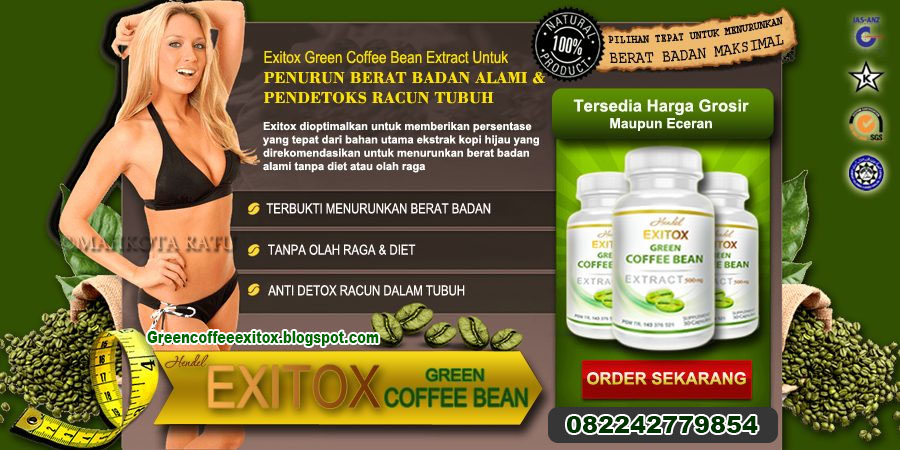 green coffee,green coffee bean asli, green coffee bean, green coffee bean asli, exitox green coffee