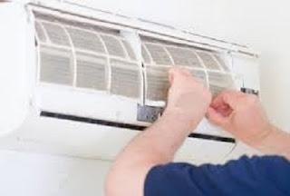 cara membersihkan ac bagian indoor