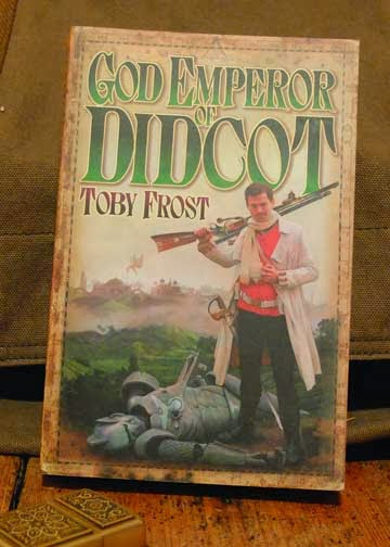 The cover of the book God Emperor of Didcot by Toby Smith