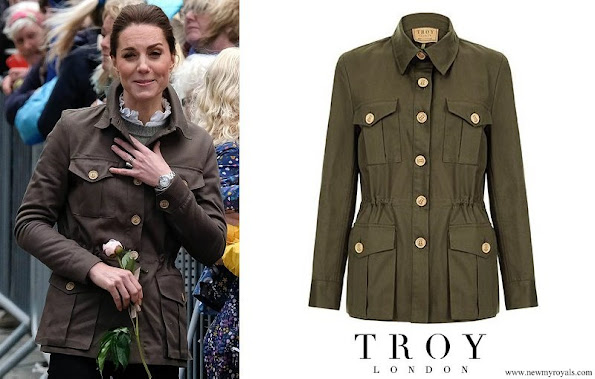 Kate Middleton wore Troy London Tracker Jacket