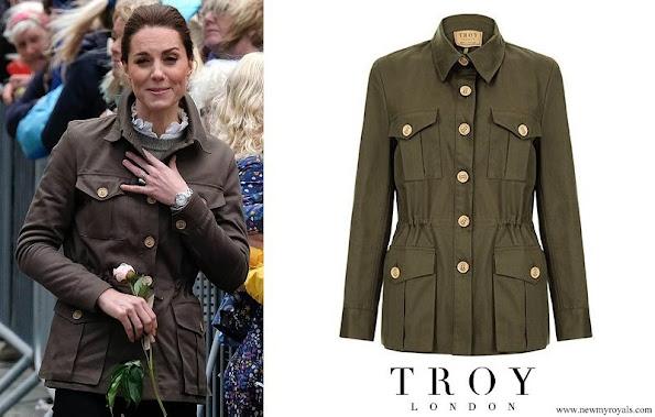 Kate Middleton wore Troy London Tracker Jacket