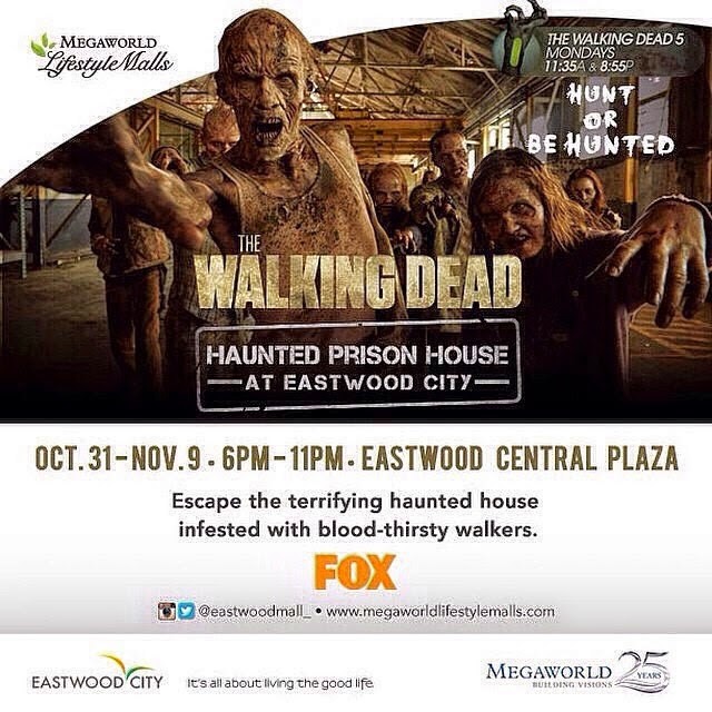 The Walking Dead Haunted Prison House