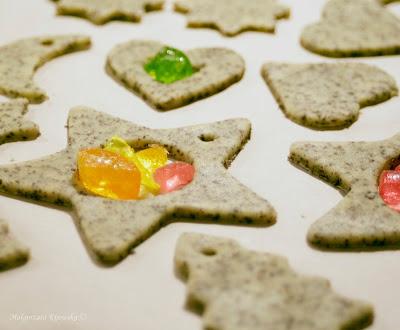 Boże Narodzenie, ciastka na choinkę
