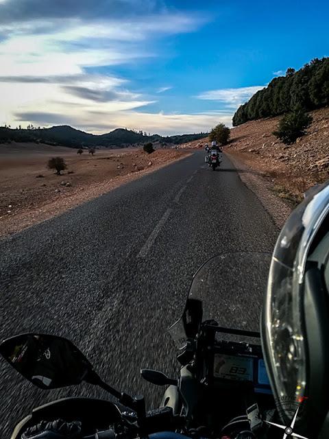 rodando por las cercanías de Khénifra