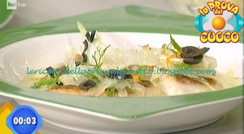 Dentice su crema di finocchi con arance e olive ricetta Bottega da Prova del Cuoco