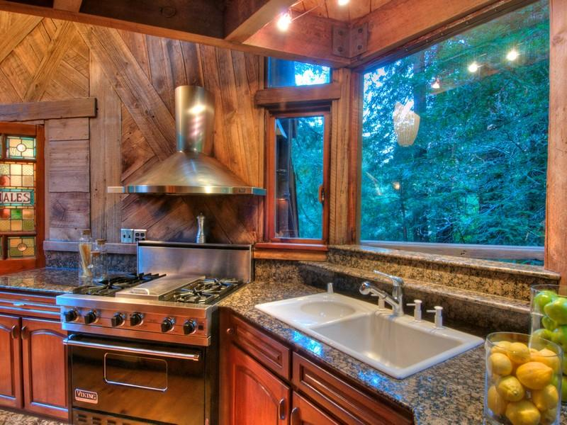 World of Architecture Tree House In The Forest Mill Valley California