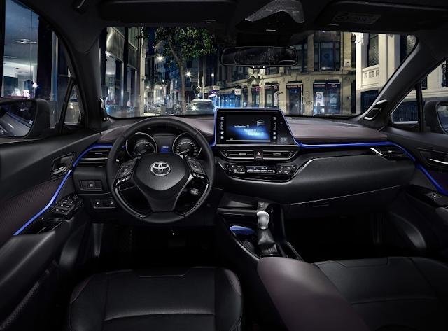 Inilah Gambar Detail Interior Toyota C-HR 2017