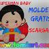 Moldes Gratis Superman Baby