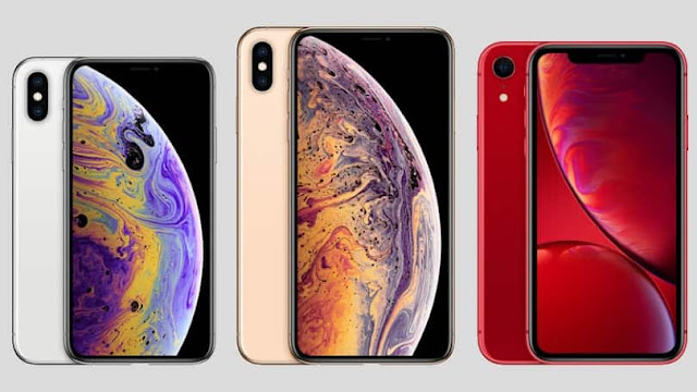 Apple iPhone XS, XS Max and  XR