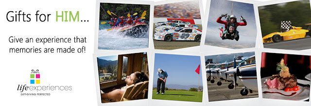 LifeExperiences.ca Gift Ideas for Dad
