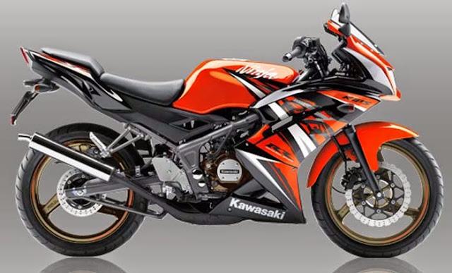 Modifikasi Motor Ninja RR 2 Tak