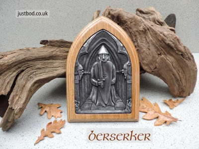 Viking Berserker wall plaque from Justbod