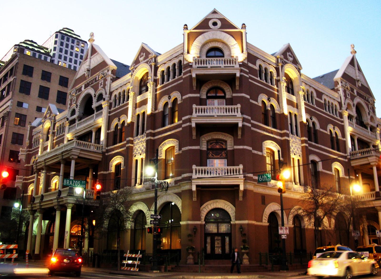 Estados Unidos Para Brasileiros: The Driskill Hotel