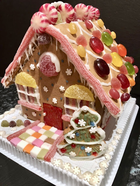 John Lewis Gingerbread House Making Kit Inspiration Christmas 2017