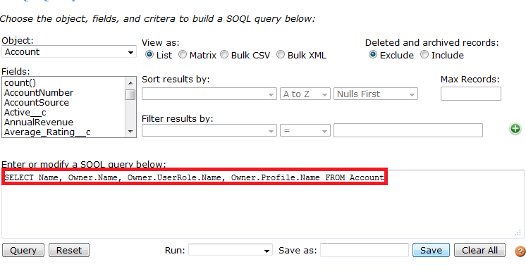 Infallible Techie: Query to fetch Role name and Profile Name