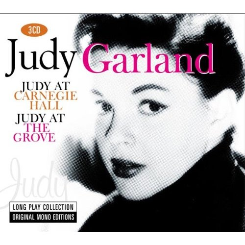 The Judy Garland Experience™: JUDY AT CARNEGIE HALL IN MONO