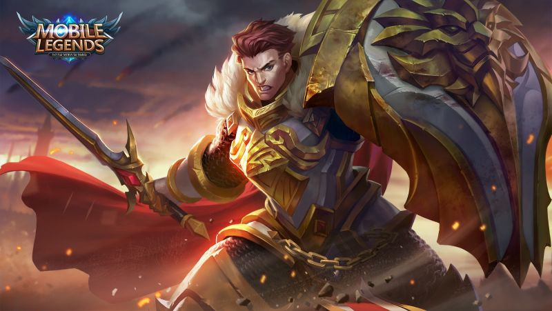 wallpaper Tigreal mobile legends 3d