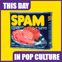 Spam was introduced on July 5, 1937.