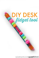 DIY desk fidget tool