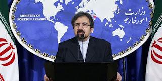 le porte-parole du ministère iranien des Affaires étrangères, Bahram Qasemi