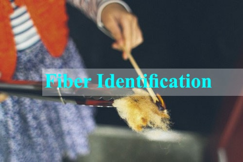 Fiber identification test