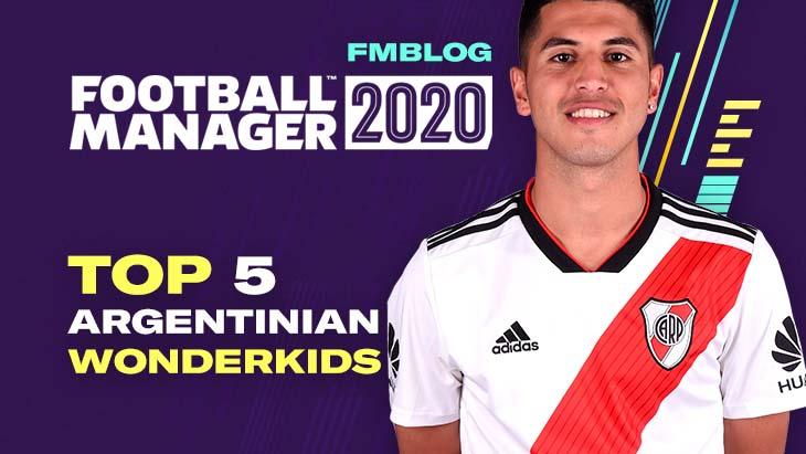 FM20 - Top 5 Wonderkids From Argentina