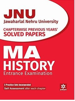 Download Free books PDF for JNU MA History Entrance Exam