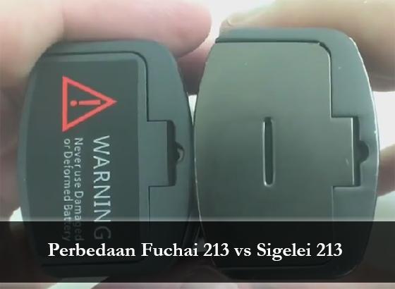 Beda Sigelei 213 dan Fuchai 213