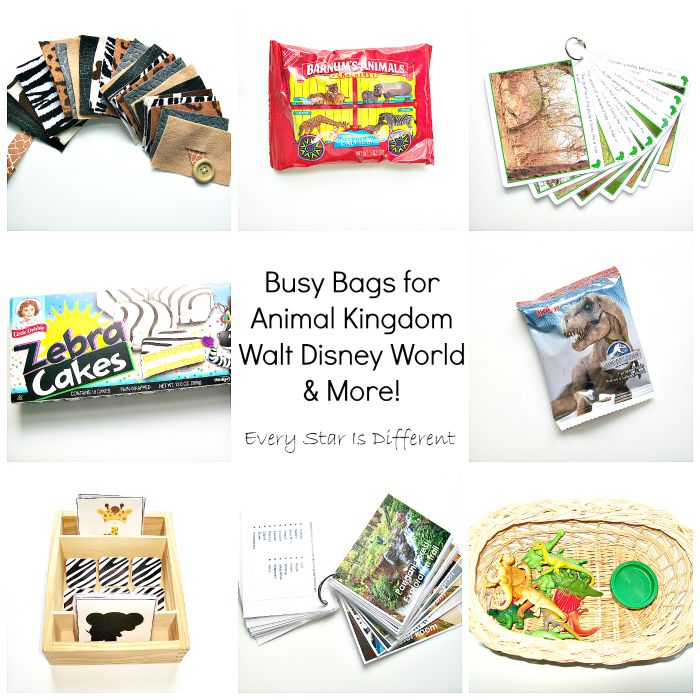 Busy Bags for Animal Kingdom