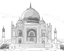 Do'a Ketika akan Masuk dan Keluar Masjid