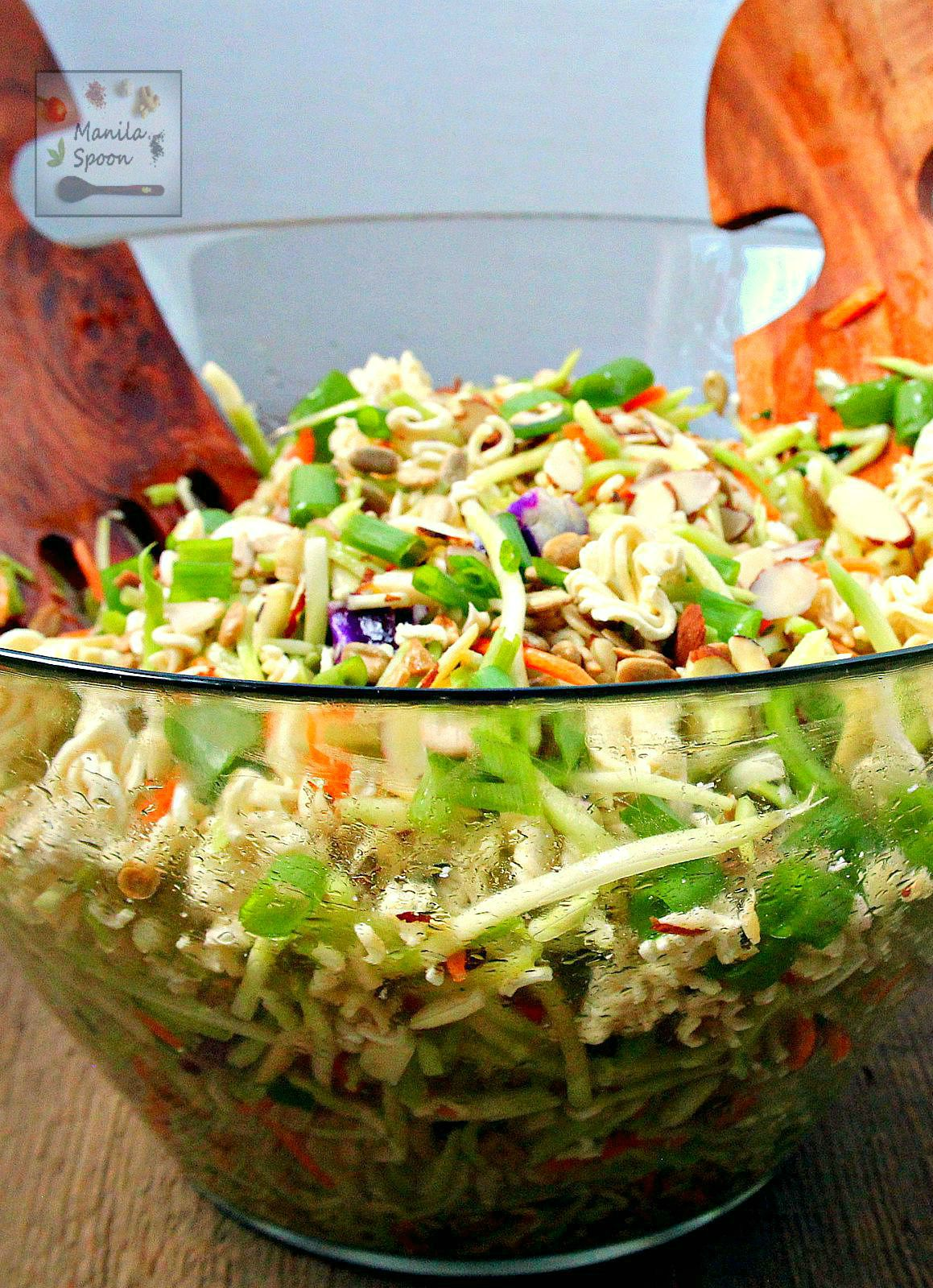 Oriental Asian Coleslaw - Manila Spoon-7755