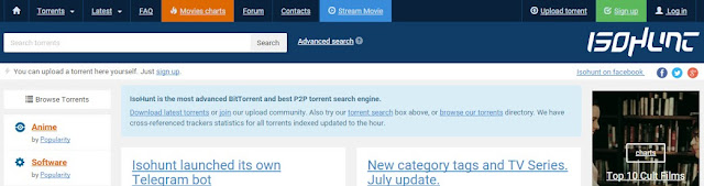 isohunt favourite torrent