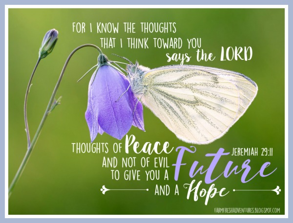 Future and a Hope ~ Encouragement for 5 Minute Friday