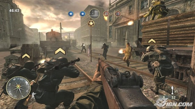 Call of Duty 3 PS2 GAME ISO Screenshot 2