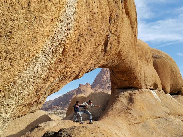 Roteiro de viagem pela Namíbia