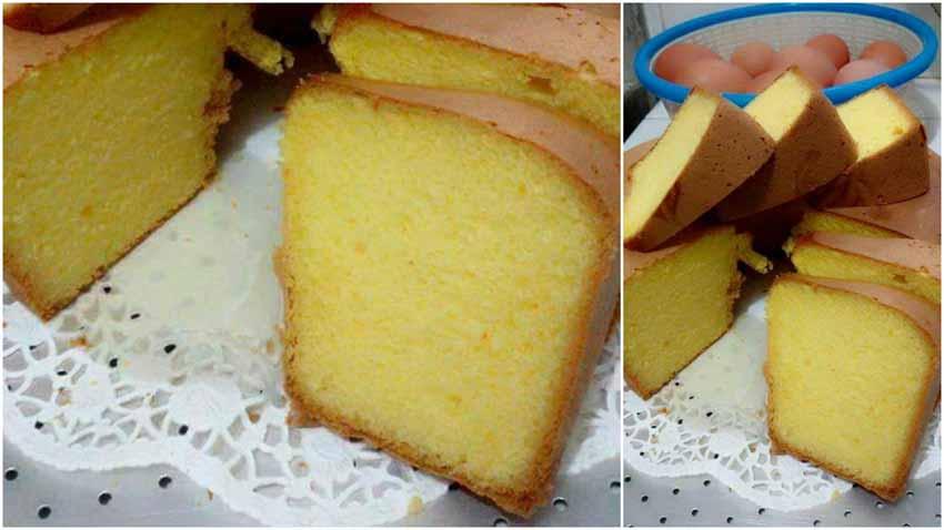 Cake Kuning Telur